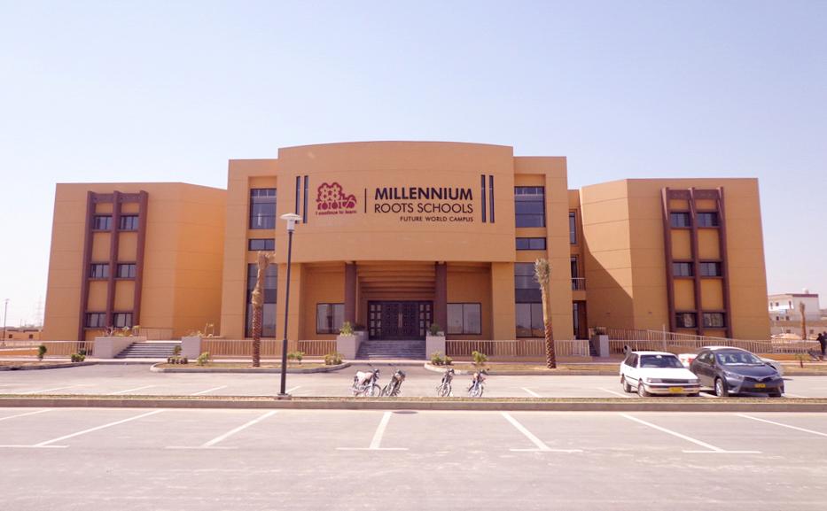 Roots Millennium School Bahria Town Karachi - Globe Estate & Builders